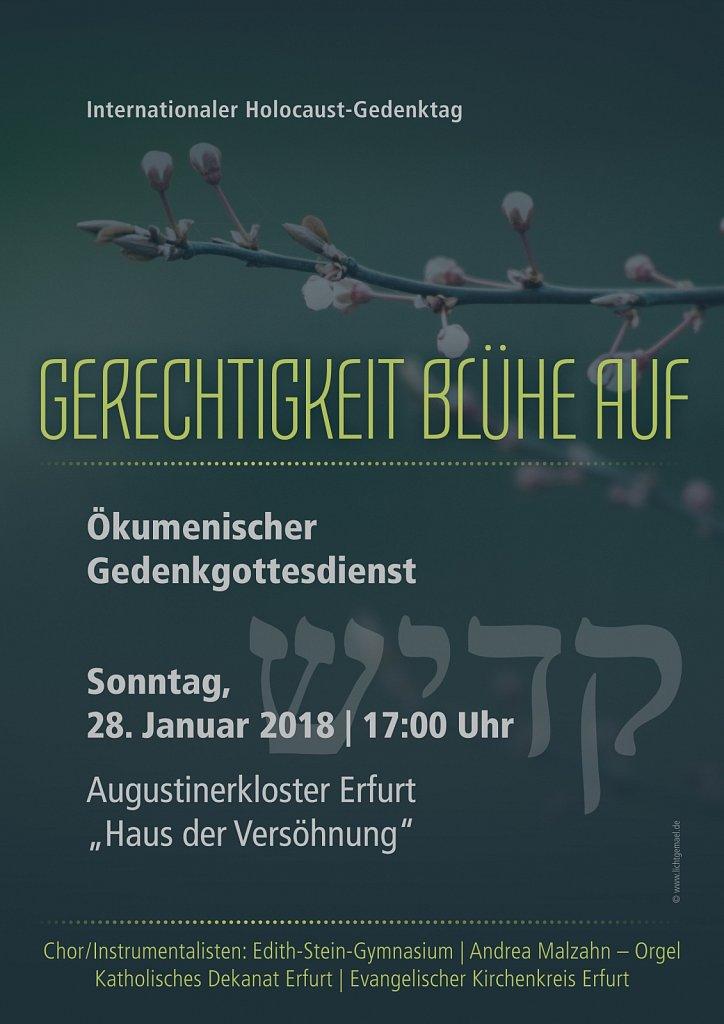 Gedenkgottesdienst 01/2018